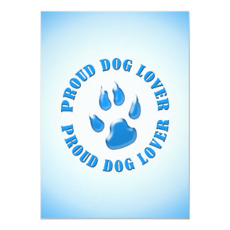Proud Dog Lover Card
