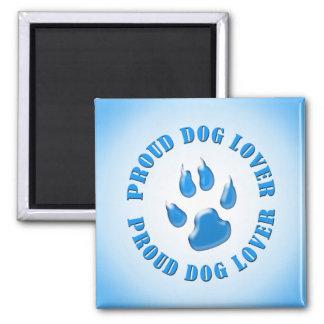 Proud Dog Lover Refrigerator Magnets