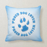 Proud Dog Lover Pillow