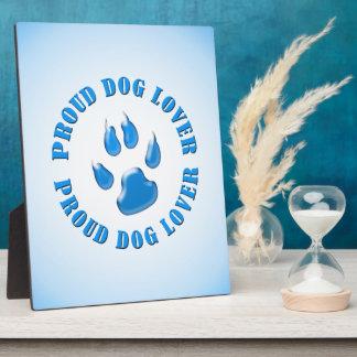 Proud Dog Lover Plaque