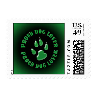 Proud Dog Lover Postage