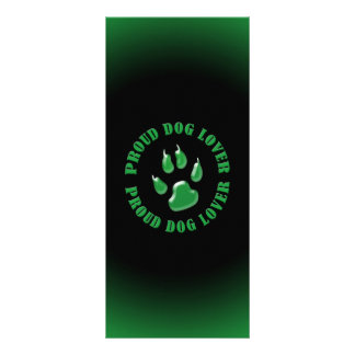 Proud Dog Lover Rack Card