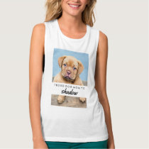 Proud Dog Mom | With Your Dog's Name and Photo Tank Top