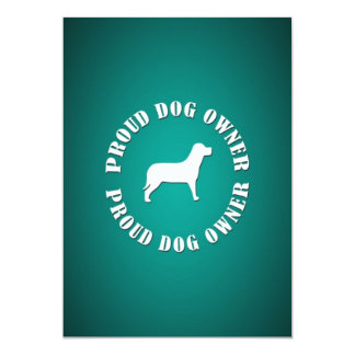 Proud Dog Owner Card