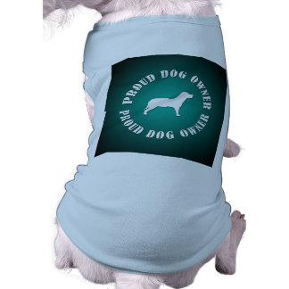 Proud Dog Owner Dog Tee Shirt