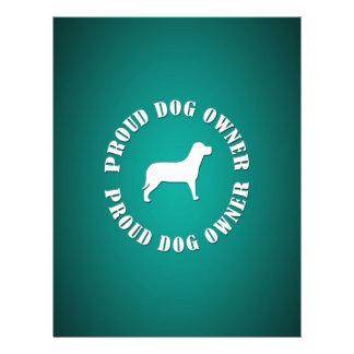 "Proud Dog Owner 8.5"" X 11"" Flyer"
