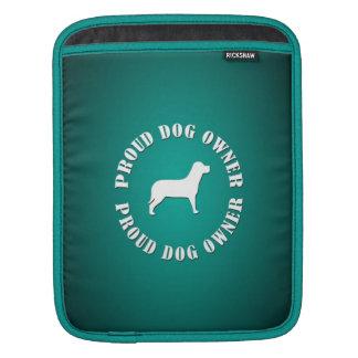 Proud Dog Owner iPad Sleeves