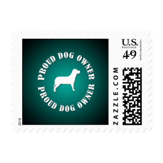 Proud Dog Owner Postage