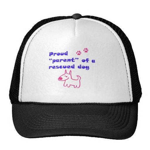proud dog trucker hat