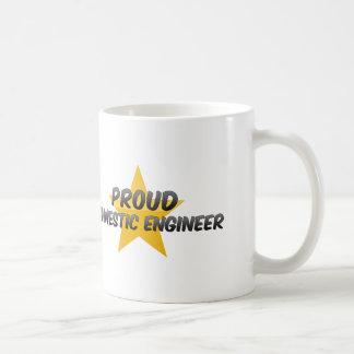 Proud Domestic Engineer Coffee Mug