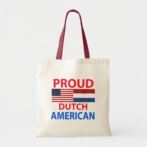 Proud Dutch American Canvas Bag