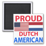 Proud Dutch American Magnets