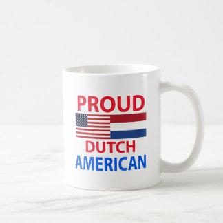 Proud Dutch American Coffee Mugs
