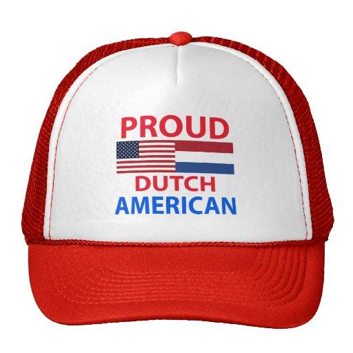 Proud Dutch American Trucker Hat