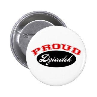 Proud Dziadek Button