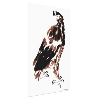 Proud Eagle Wrapped Canvas