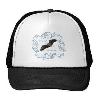 Proud Eagleholic Blue Trucker Hat