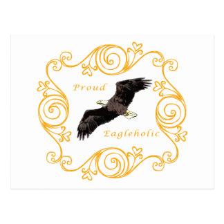 Proud Eagleholic Postcard