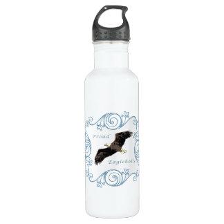 Proud Eagleholic Stainless Steel Water Bottle
