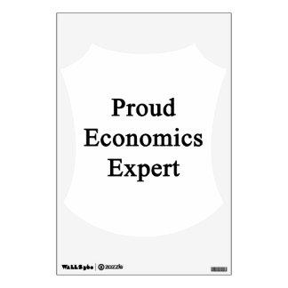 Proud Economics Expert Room Decals