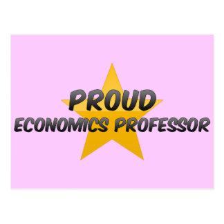 Proud Economics Professor Postcard