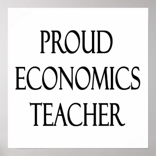 Proud Economics Teacher Print