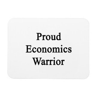 Proud Economics Warrior Rectangle Magnet