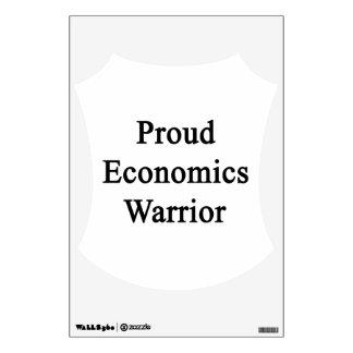 Proud Economics Warrior Room Decal