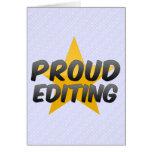 Proud Editing Cards