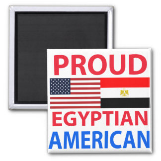 Proud Egyptian American Magnet