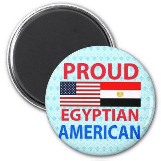 Proud Egyptian American Refrigerator Magnet