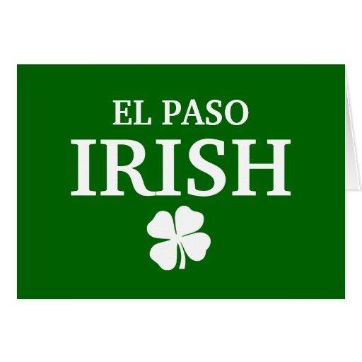 Proud EL PASO IRISH! St Patrick's Day Greeting Cards
