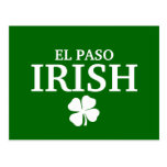 Proud EL PASO IRISH! St Patrick's Day Postcard