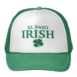 Proud EL PASO IRISH! St Patrick's Day Trucker Hat