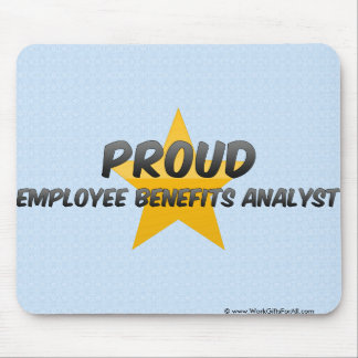 Proud Employee Benefits Analyst Mouse Pad
