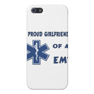 Proud EMT Girlfriend Cases For iPhone 5