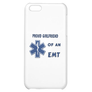 Proud EMT Girlfriend Cover For iPhone 5C