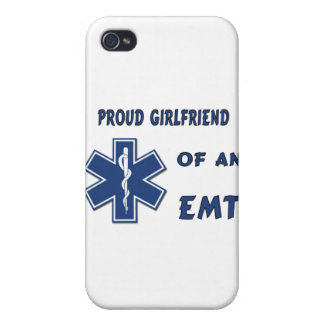 Proud EMT Girlfriend iPhone 4 Covers