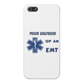 Proud EMT Girlfriend iPhone 5 Cover