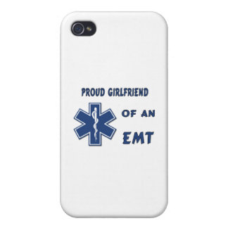 Proud EMT Girlfriend iPhone 4 Cases