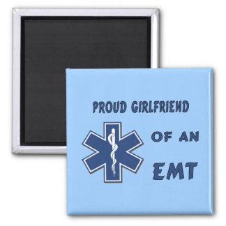 Proud EMT Girlfriend Magnet