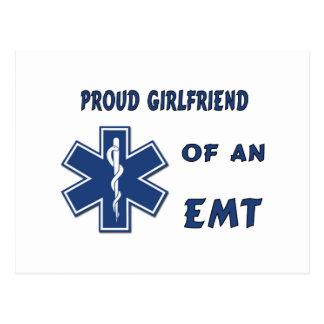Proud EMT Girlfriend Postcard