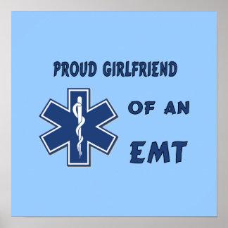 Proud EMT Girlfriend Print
