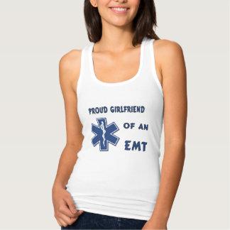 Proud EMT Girlfriend T Shirt