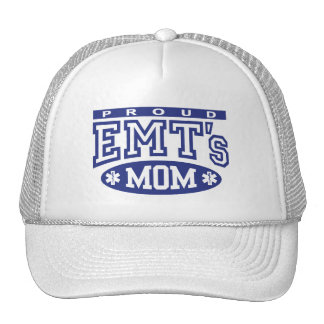 Proud EMT's Mom Trucker Hat