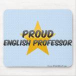 Proud English Professor Mousepads