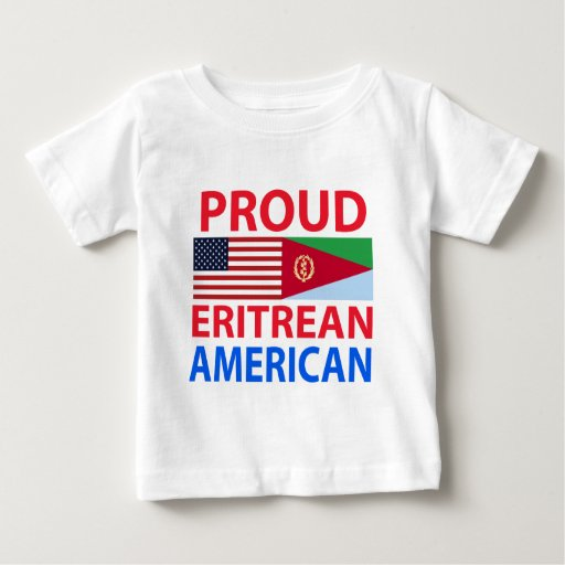 Proud Eritrean American Infant T-shirt