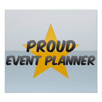 Proud Event Planner Poster
