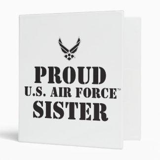 Proud Family – Black Logo & Star 3 Ring Binder
