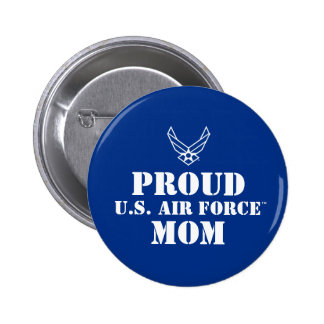 Proud Family - Logo & Star on Blue Button